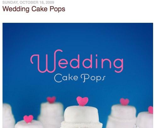 Wedding Cake Pops  bakerella.com
