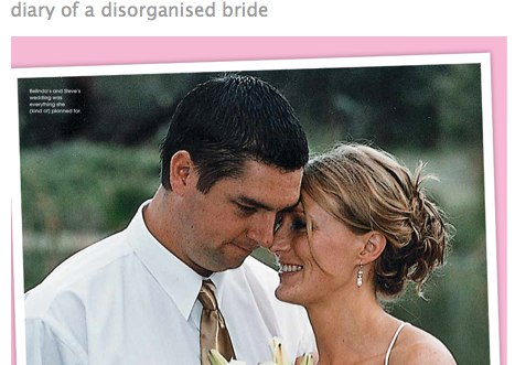 diary of a disorganised bride the happy home