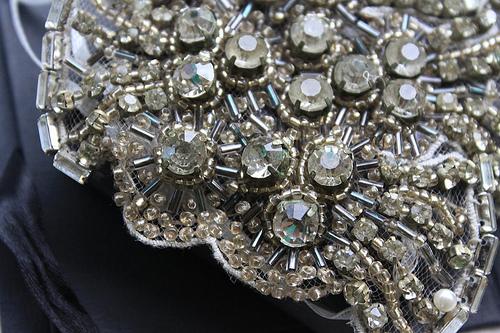 Johanna Johnson Harlow Headpiece