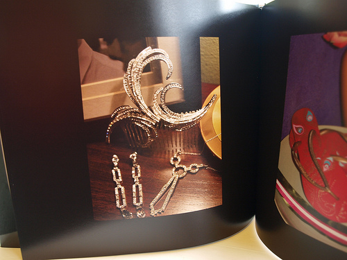 Blub photobook - my jewellery