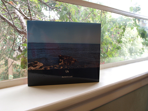 Blurb photobook - front cover