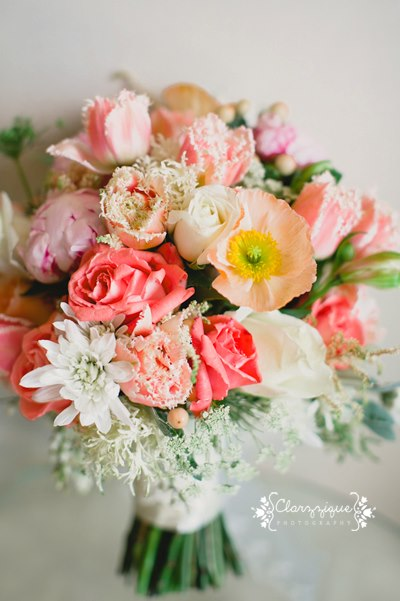 Pretty pink and orange spring bouquet by Chanele Rose flowers - image by Clarzzique photographyPretty pink and orange spring bouquet by Chanele Rose flowers - image by Clarzzique photographyPretty pink and orange spring bouquet by Chanele Rose flowers - image by Clarzzique photography