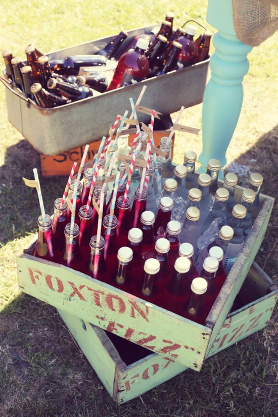 Foxton Fizz out of the crate and Wellington craft beer on ice