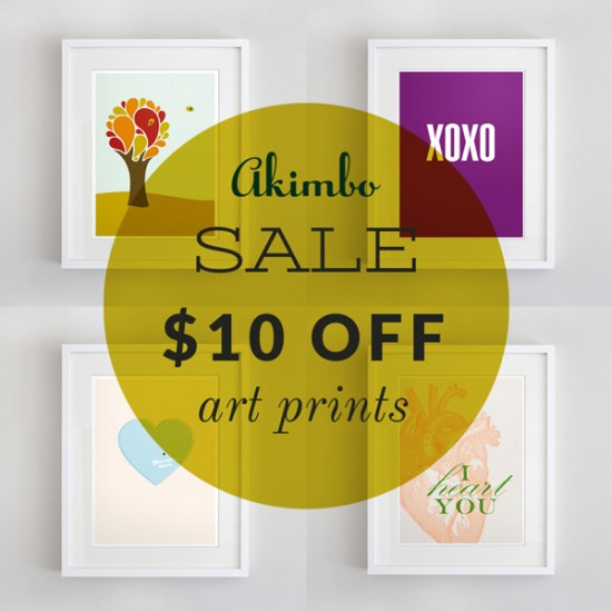 Akimbo-$10-off-love-prints-sale