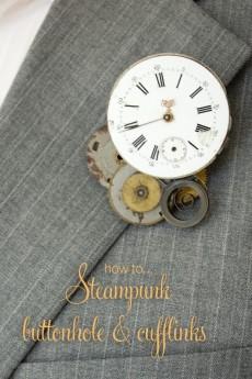 Steampunk groom title