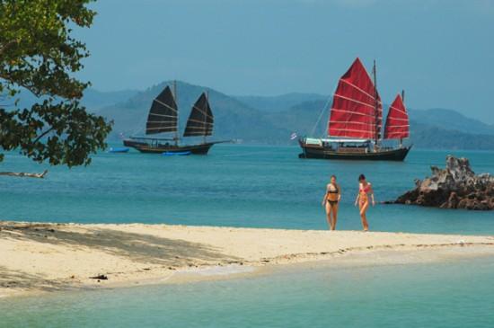 beach phang nga bay