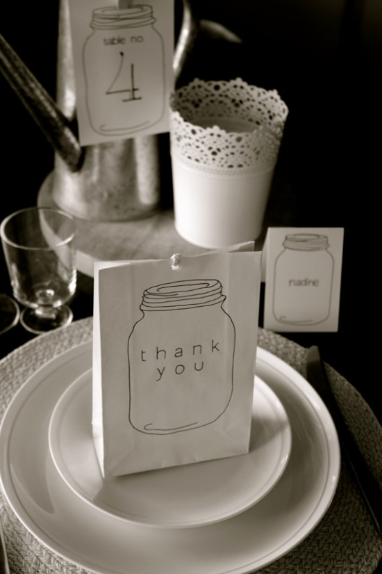 wedding table package