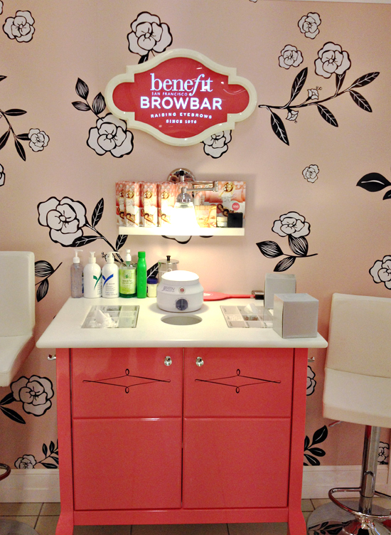 benefit brow bar
