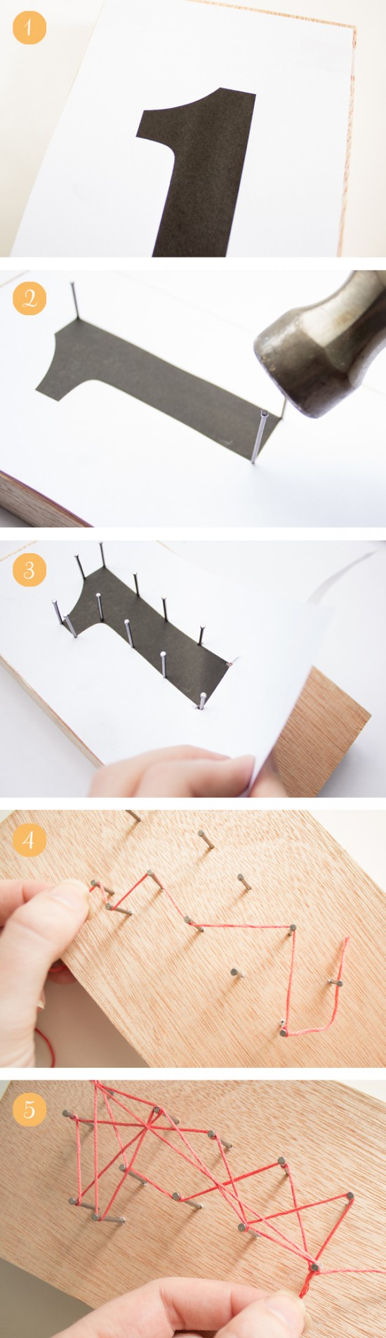 Geometric table number