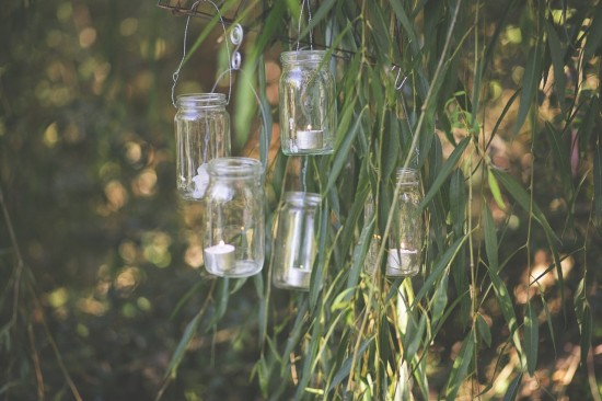 Vecola bottle Chandeliers in the Willow Tree Levi Gardner Photography
