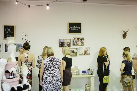 Photographer Alyce & Colette captured guests enjoying the launch