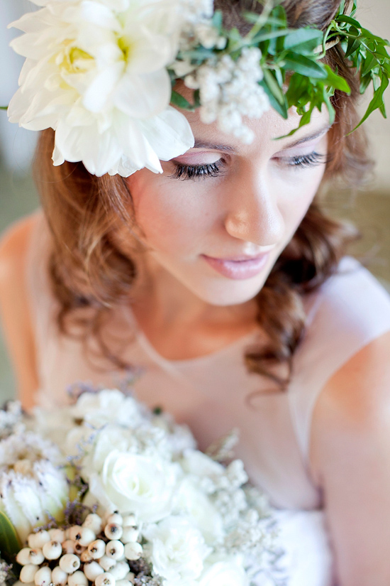 White Bohemian Wedding Ideas002