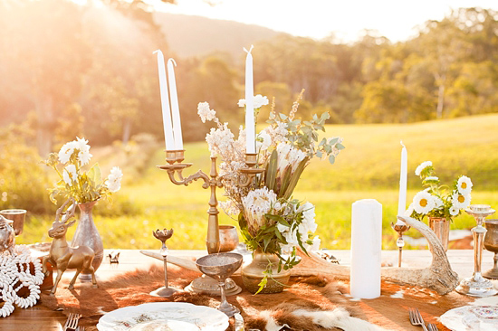 White Bohemian Wedding Ideas009