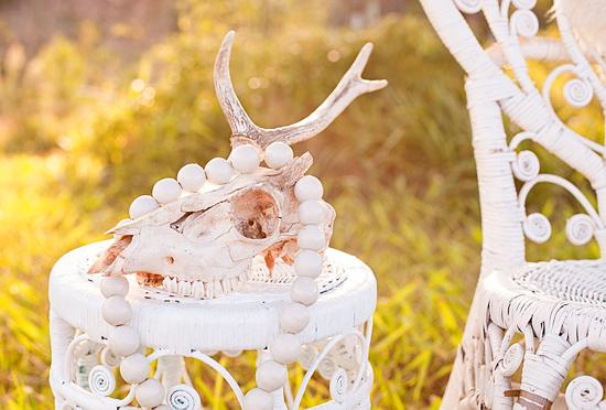 White Bohemian Wedding Ideas011