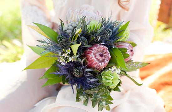 White Bohemian Wedding Ideas014