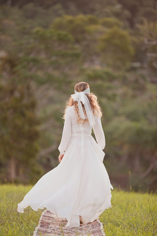 White Bohemian Wedding Ideas023