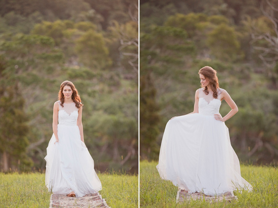 White Bohemian Wedding Ideas024