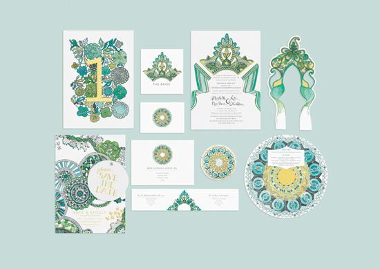 kathryn green wedding invitations001