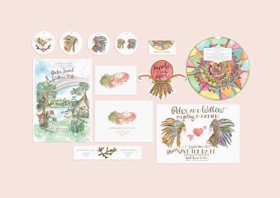 kathryn green wedding invitations003
