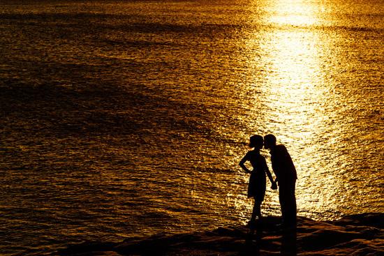 sunset island engagement024
