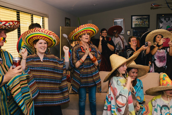 surprise mexican party wedding0001