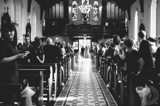 modern irish wedding