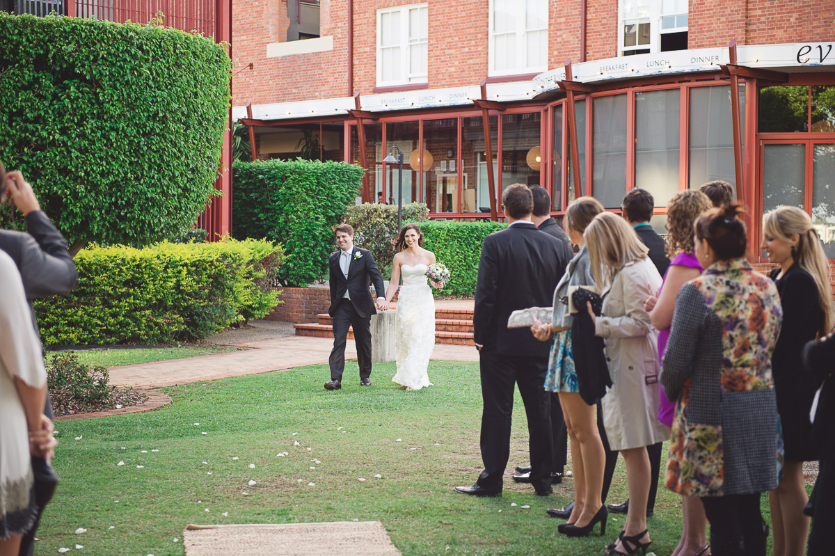 Wedding with Brisbane City Celebrants Ciara Hodge. Image Vellum Studios