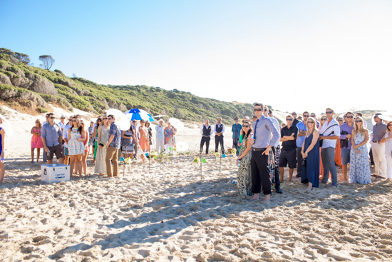 bright casual beach wedding0016