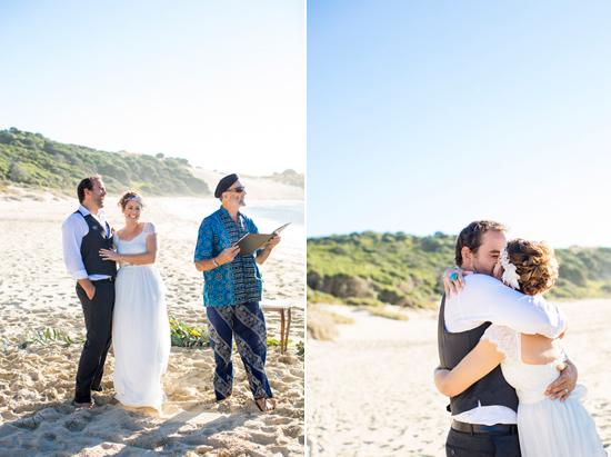 bright casual beach wedding0033