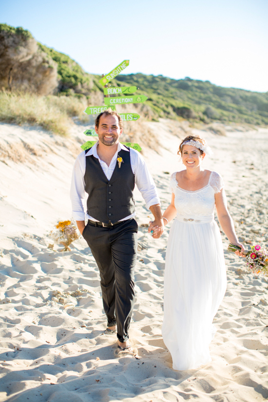 bright casual beach wedding0039