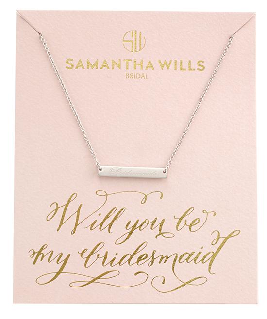 samantha wills will you be my bridesmaid