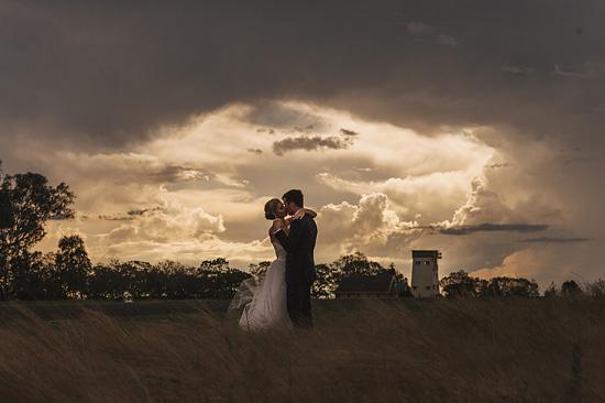 chic air hangar wedding0046