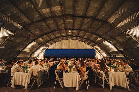 chic air hangar wedding0079