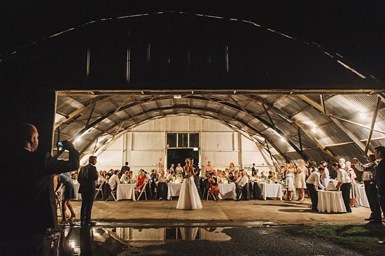 chic air hangar wedding0091