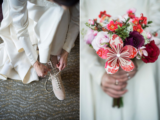 eclectic warehouse wedding0011