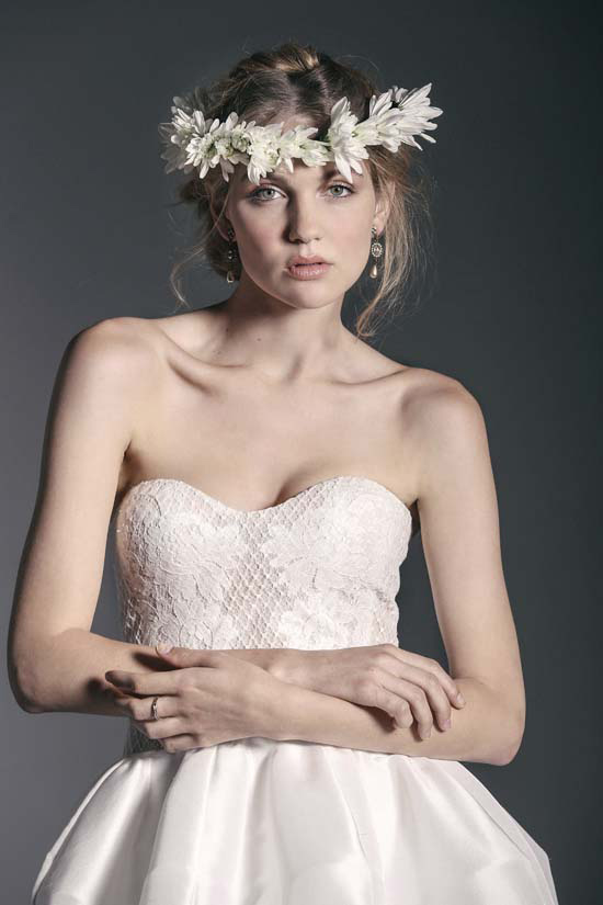crown of flowers bridal inspiration0014
