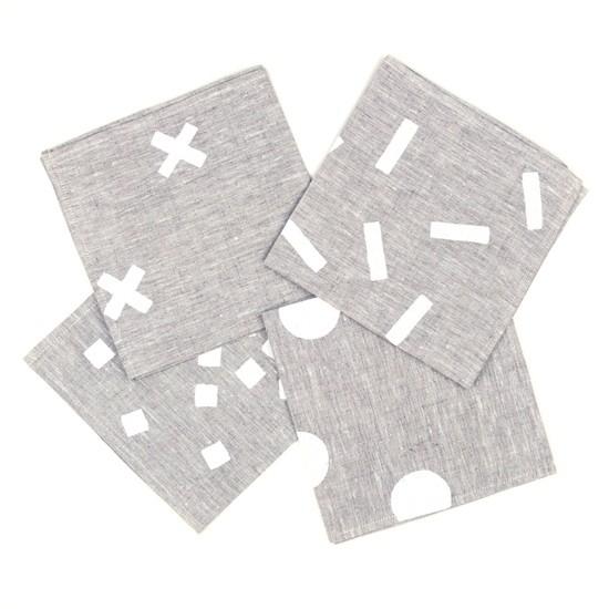 hand painted napkins australia