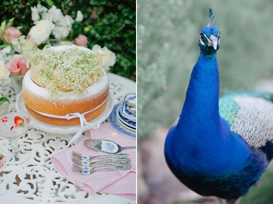 vintage blue china wedding inspiration0100