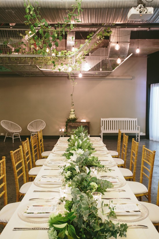 modern greenery wedding inspiration0012