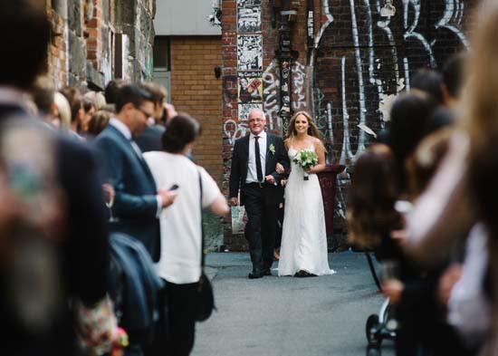 city laneway wedding0030