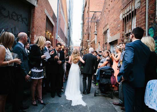 city laneway wedding0031