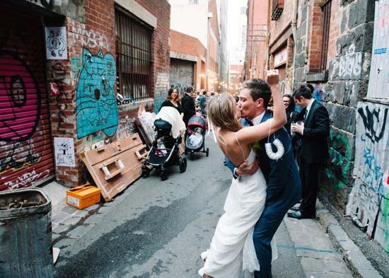 city laneway wedding0048
