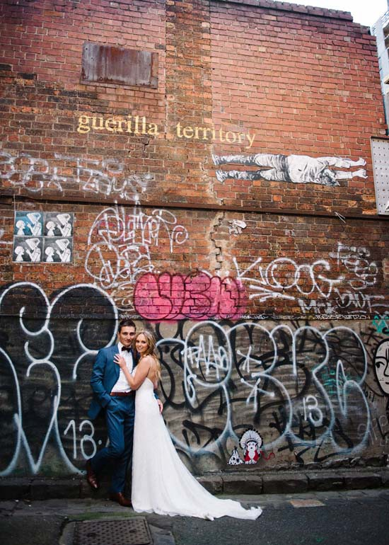 city laneway wedding0050