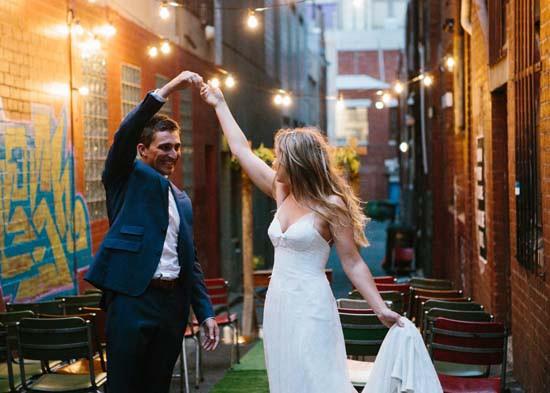 city laneway wedding0051