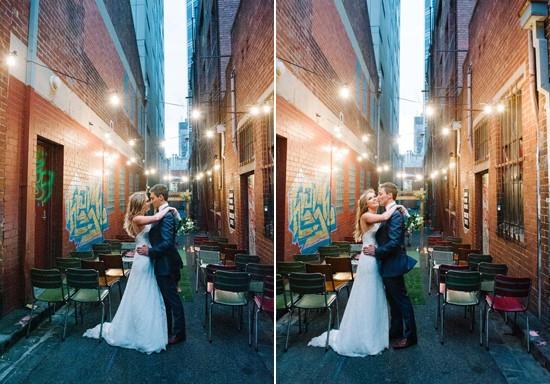city laneway wedding0060