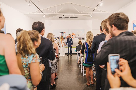 fun art gallery wedding0031