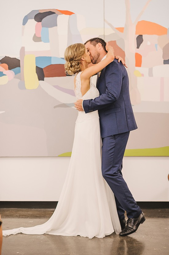 fun art gallery wedding0038