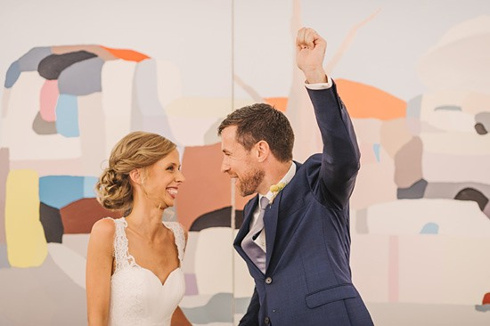 fun art gallery wedding0039