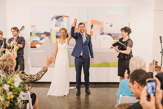 fun art gallery wedding0041