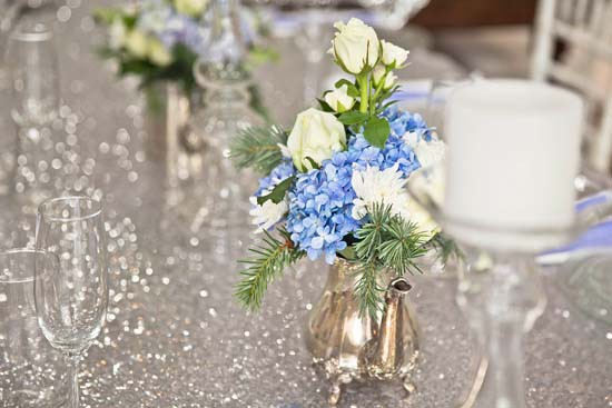 sparkling silver bridal shower ideas0001